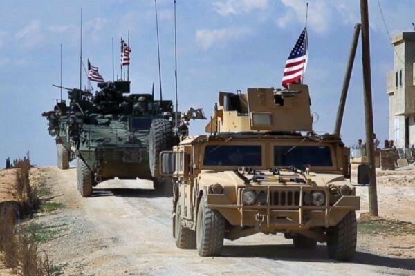 کاروان لجستیک ارتش آمریکا از عراق به سوریه عبور کرد