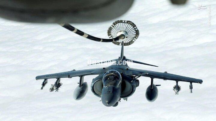 سوختگیری هوایی جنگنده آمریکایی / فیلم