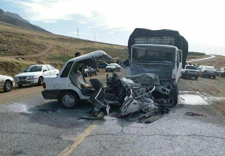 ۸ مصدوم در دو حادثه رانندگی در قم