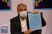 صحبتهای محسن هاشمی پس از ثبت نام | در سیاست خارجی، منش آیتالله هاشمی را دنبال میکنم / فیلم