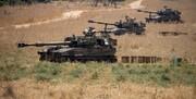 استقرار تجهیزات نظامی رژیم صهیونستی در مرز لبنان