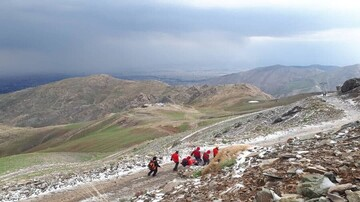 صاعقهزدگی دختر کوهنورد در ارتفاعات توچال
