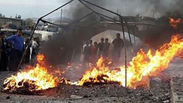 ماجرای زنده زنده سوختن دختر ۳ ساله عشایری / عکس