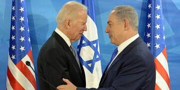 قدردانی نتانیاهو از بایدن