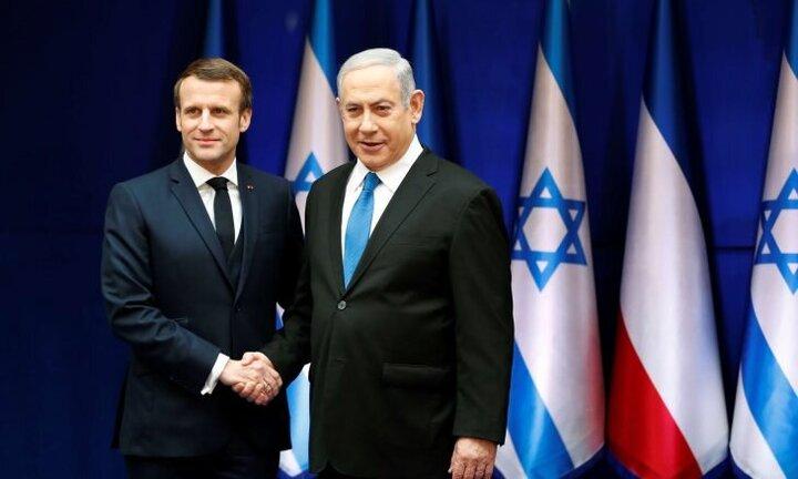 ماکرون و نتانیاهو درباره وضعیت غزه تلفنی گفت و گو کردند