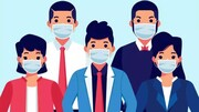 پیشگیری از عفونت پوست هنگام ماسک زدن در دوران کرونا