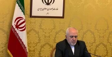 ظریف در نشست اضطراری مجازی وزرای امور خارجه سازمان همکاری اسلامی شرکت کرد