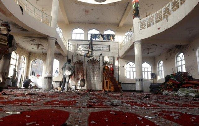 گروه تروریستی داعش، مسئول حمله به مسجدی در کابل