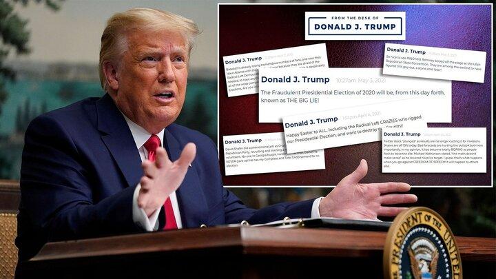 سایت جدید ترامپ از دسترس خارج شد