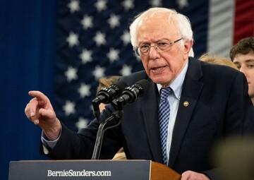 برنی سندرز حملات علیه غزه را بیرحمانه توصیف کرد