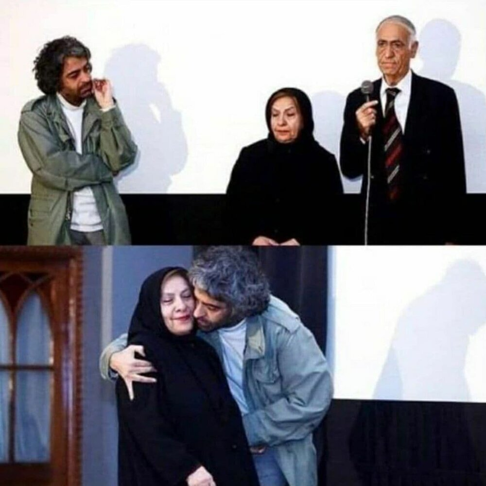 عکس| بابک خرمدین، کارگردان مقتول کنار پدر و مادرش