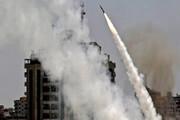 برخورد موشک به ساختمانی در «اشدود» / فیلم