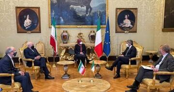 دیدار ظریف با رییس مجلس نمایندگان ایتالیا