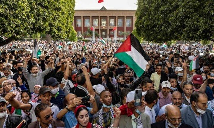 مراکشیها خواستار لغو عادیسازی روابط با رژیم صهیونیستی شدند