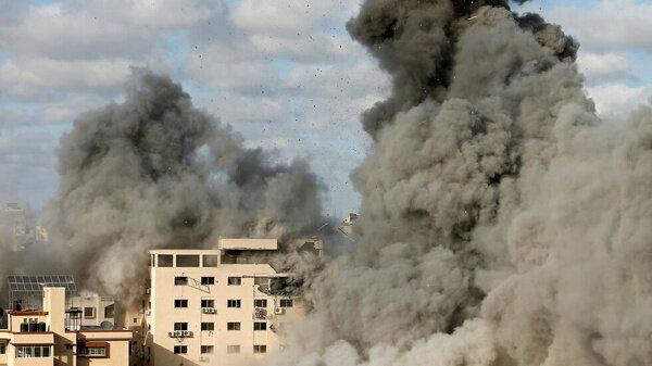 ارتش اسرائیل تهدید کرد / برج «وطن» در مرکز غزه را بمباران میکنیم