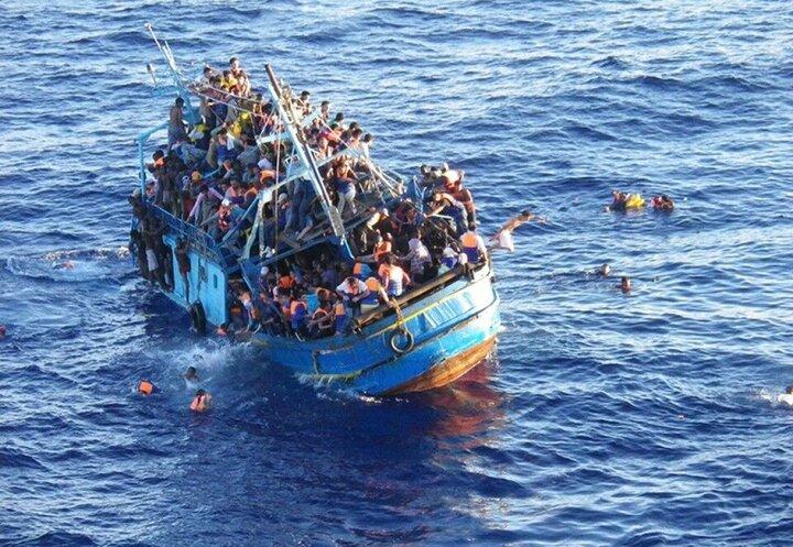 غرق شدن ۵۷ مهاجر تونسی در دریا