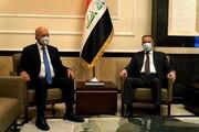 گفتگوی برهم صالح و مصطفی الکاظمی درباره انتخابات پارلمانی عراق