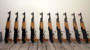 محموله قاچاق سلاح جنگی در مرز دهلران کشف شد