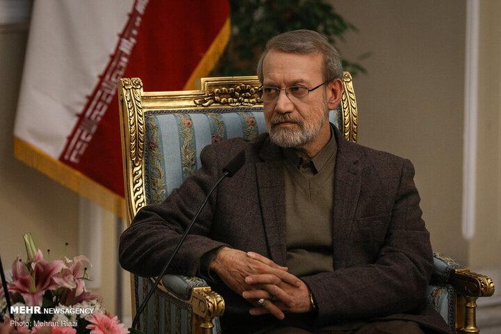 علی لاریجانی: گناه کبیره نکردم که وارد عرصه انتخابات شدم | حوزه اقتصاد جای قاضی نیست