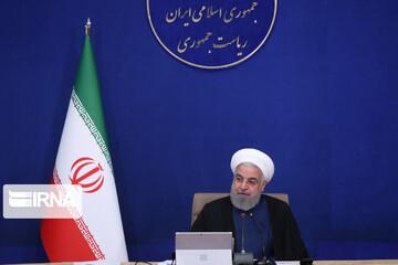 بهرهبرداری از طرحهای ملی وزارت نفت با حضور روحانی آغاز شد