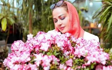 ماسک عجیب بهاره رهنما جنجالی شد / عکس