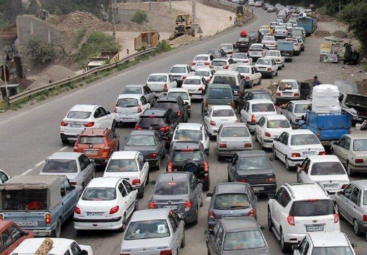 وضعیت ترافیکی جادههای کشور ۳۰ اردیبهشت / جاده چالوس و فیروزکوه شلوغ است