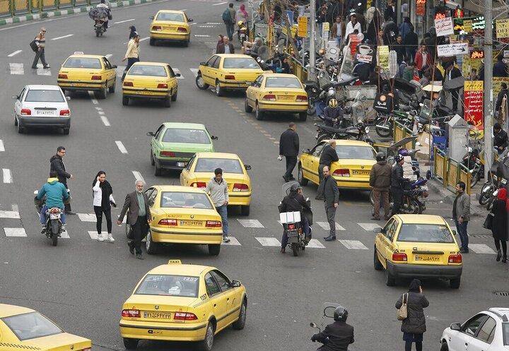 ابتلای ۹ هزار و ۵۰۰ راننده تاکسی به ویروس کرونا