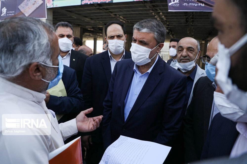 سفر وزیر راه وشهر سازی به اصفهان