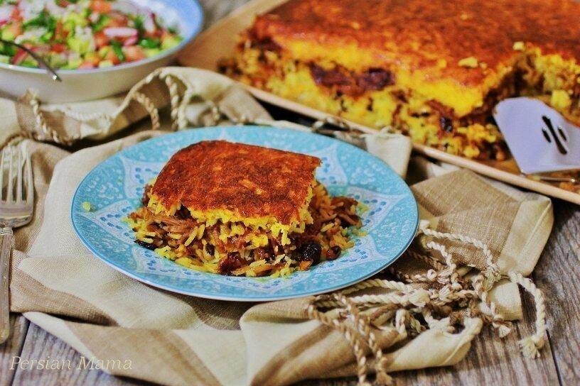 طرز تهیه تهچین مرغ | نکاتی برای وا نرفتن تهچین