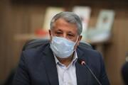 محسن هاشمی با دست شکسته رای داد / عکس