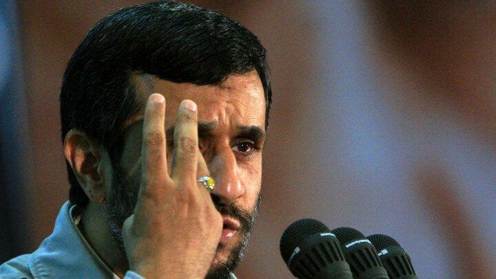 محمود احمدینژاد: اینجای بابای آدم دروغگو / فیلم