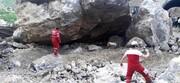 تصاویری از ریزش وحشتناک تونل در شهرستانک / فیلم