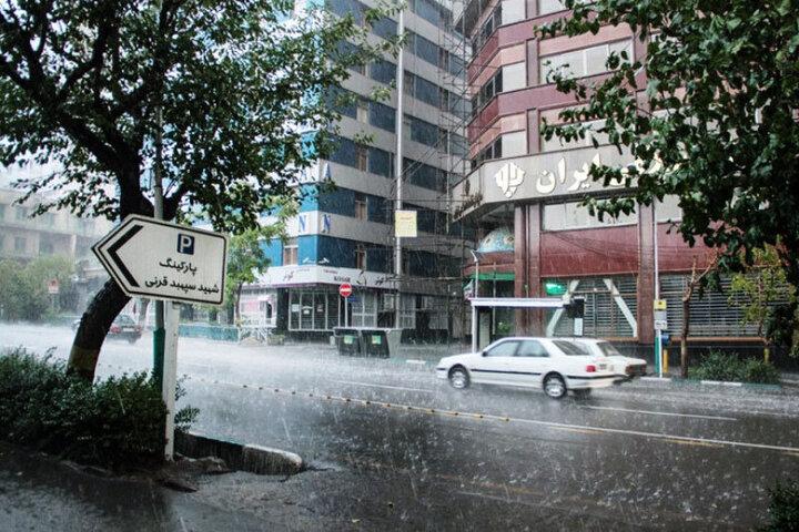گزارش آب و هوا در ۱ خرداد ماه / ۱۷ استان منتظر باران باشند