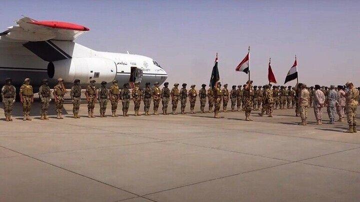 رزمایش نظامی مشترک امارات و مصرآغاز شد