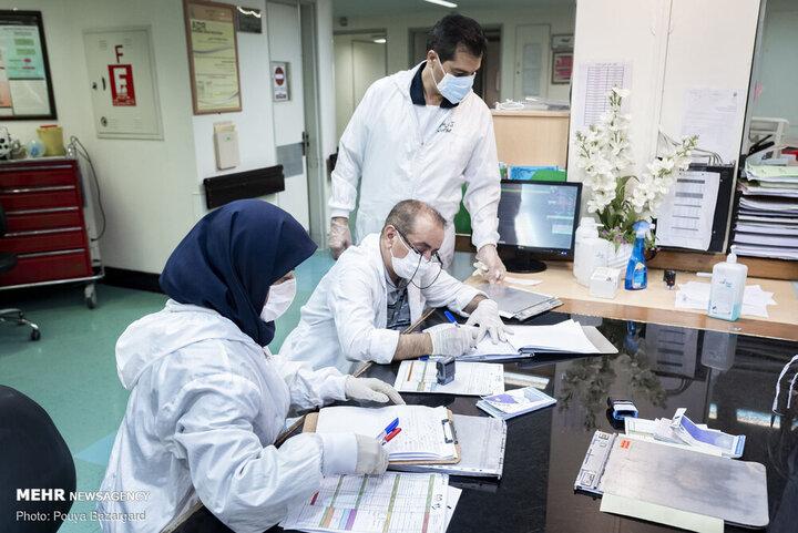 آخرین آمار بیماران کرونایی بستری در پایتخت