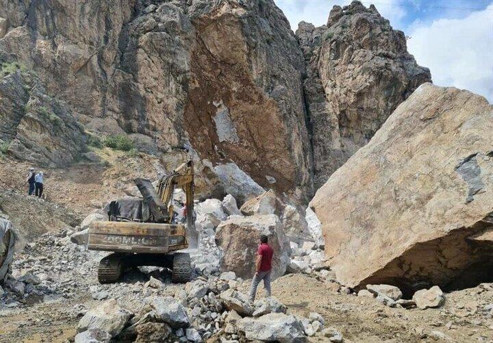 جزئیات حادثه تلخ سقوط صخره در کارگاه منطقه ۲ آزادراه تهران ـ شمال