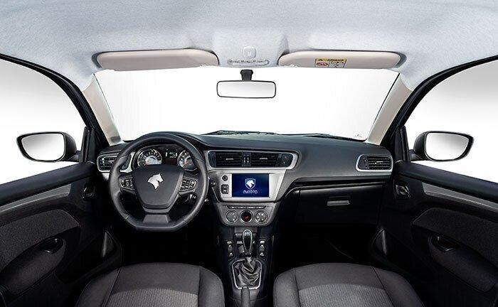 تصاویر رسمی از خودروی تارا دندهای منتشر شد