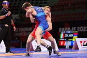 قهرمانی روسیه در مسابقات کشتی آزاد اروپا
