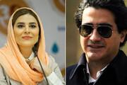 تبریک سحر دولتشاهی به همایون شجریان جنجالی شد / فیلم و عکس