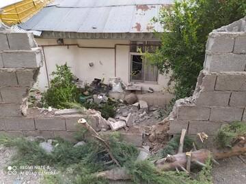 رانش زمین در رودبار موجب خسارت شد