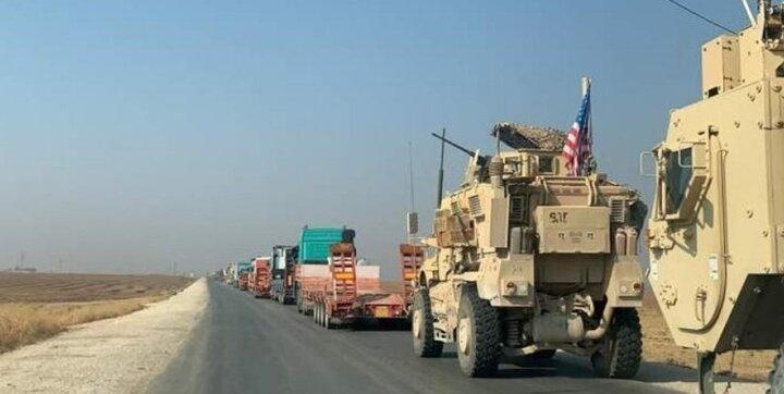 کاروان لجستیک آمریکا در عراق هدف حمله قرار گرفت