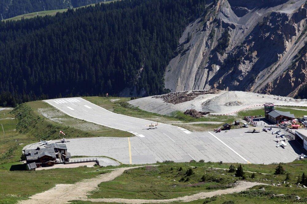 عجیب ترین باندهای فرودگاه در جهان + عکس
