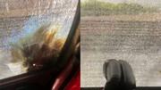تصاویری از حمله به اتوبوس پرسپولیس با نارنجک / فیلم