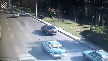 صحنه هولناک از حوادث رانندگی / فیلم