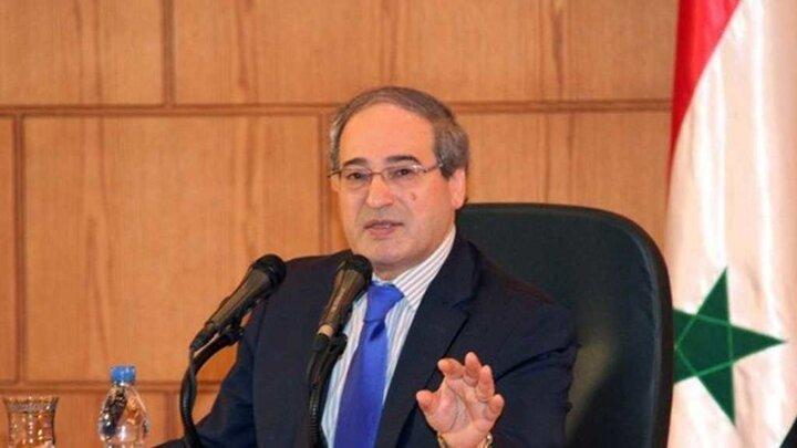وزیر خارجه سوریه از ایران و روسیه قدردانی کرد