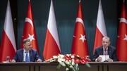 اردوغان از استقرار جنگندههای اف ۱۶ ترکیه در لهستان خبر داد