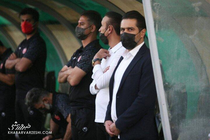 حال بد افشین پیروانی پس از حمله به پرسپولیس / عکس