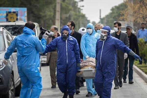 سهم کرونا از کل مرگومیرها در ایران دو برابر میانگین جهانی است