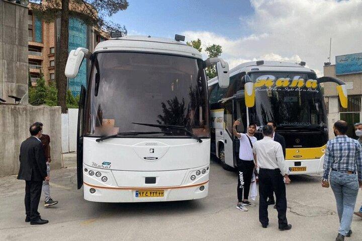 بازداشت عاملان حمله به اتوبوس پرسپولیس در اصفهان