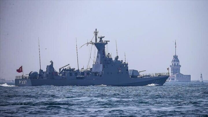 ترکیه، رزمایش گرگ دریا ۲۰۲۱ را در مدیترانه آغاز کرد
